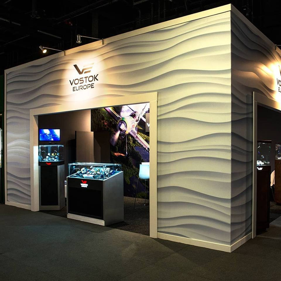 Vostok-Europe's Watch Booth at the Basel Watch Fair 2019